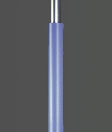 Säulenschutzpolster für Profil 80x80mm blau