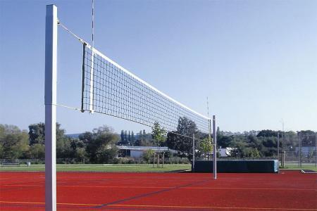 Volleyball Netzpfosten aus Aluminium 80x80mm, per Paar