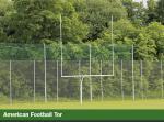 American Football Tore, SCHWANENHALS/GOOSENECK, in alunatur