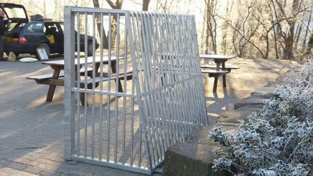 Bolzplatztor Stahl fv.2,40x1,60m (oder WUNSCHGRÖSSE!) vollverschweisst