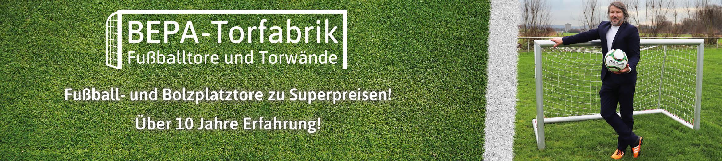 BEPA-Torfabrik - Fußballtore und Torwände - unser Onlineshop für Luxemburg